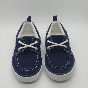 💑 4 for $20 Gymboree Blue Canvas Deck Shoes